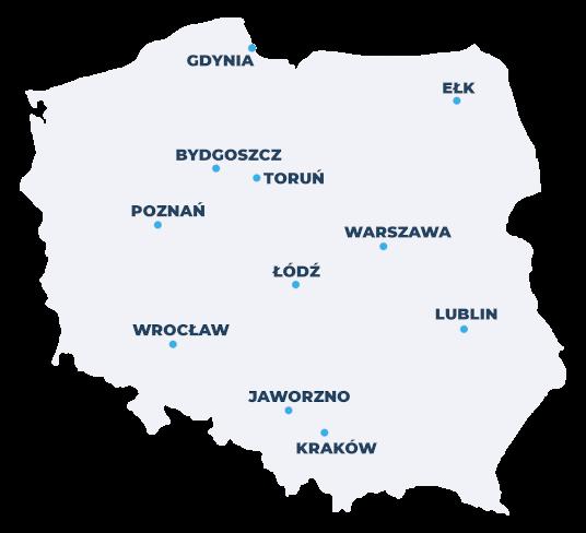 mapa terapeutów polska